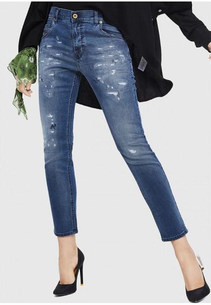 Сині жіночі джинси