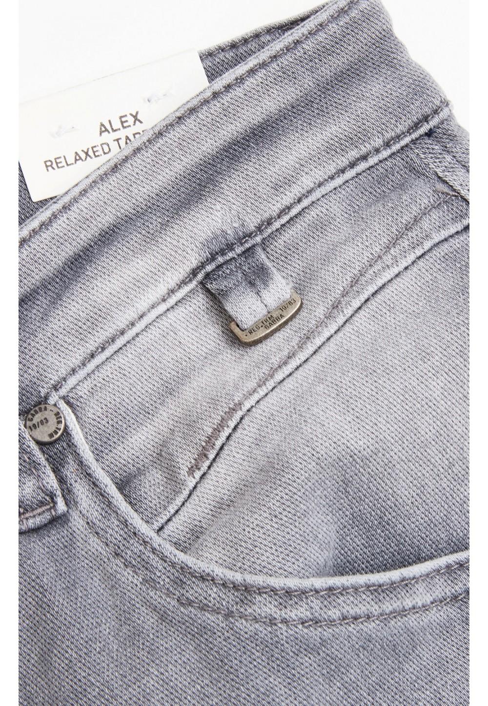 Серые джинси с потертостями Alex Comfy Jog