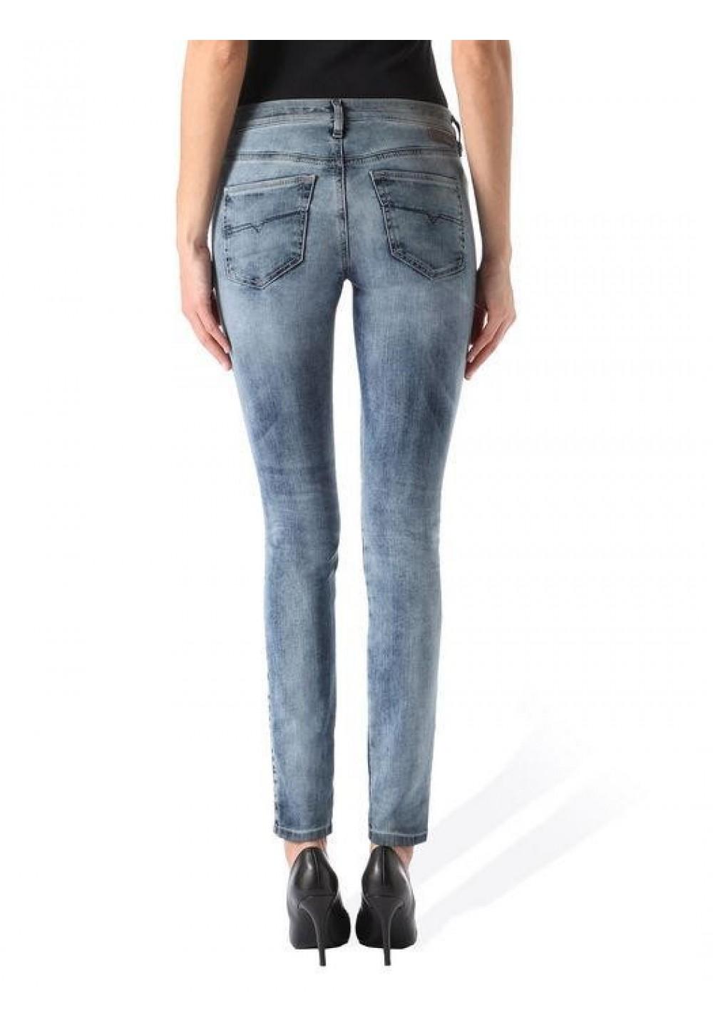 Голубые джинсы JoggJeans Super Skinny
