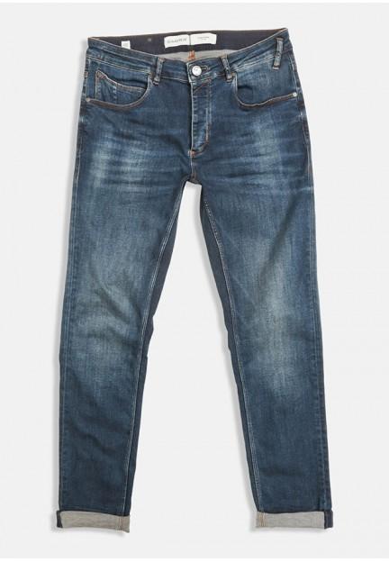 Сині джинси прямого крою