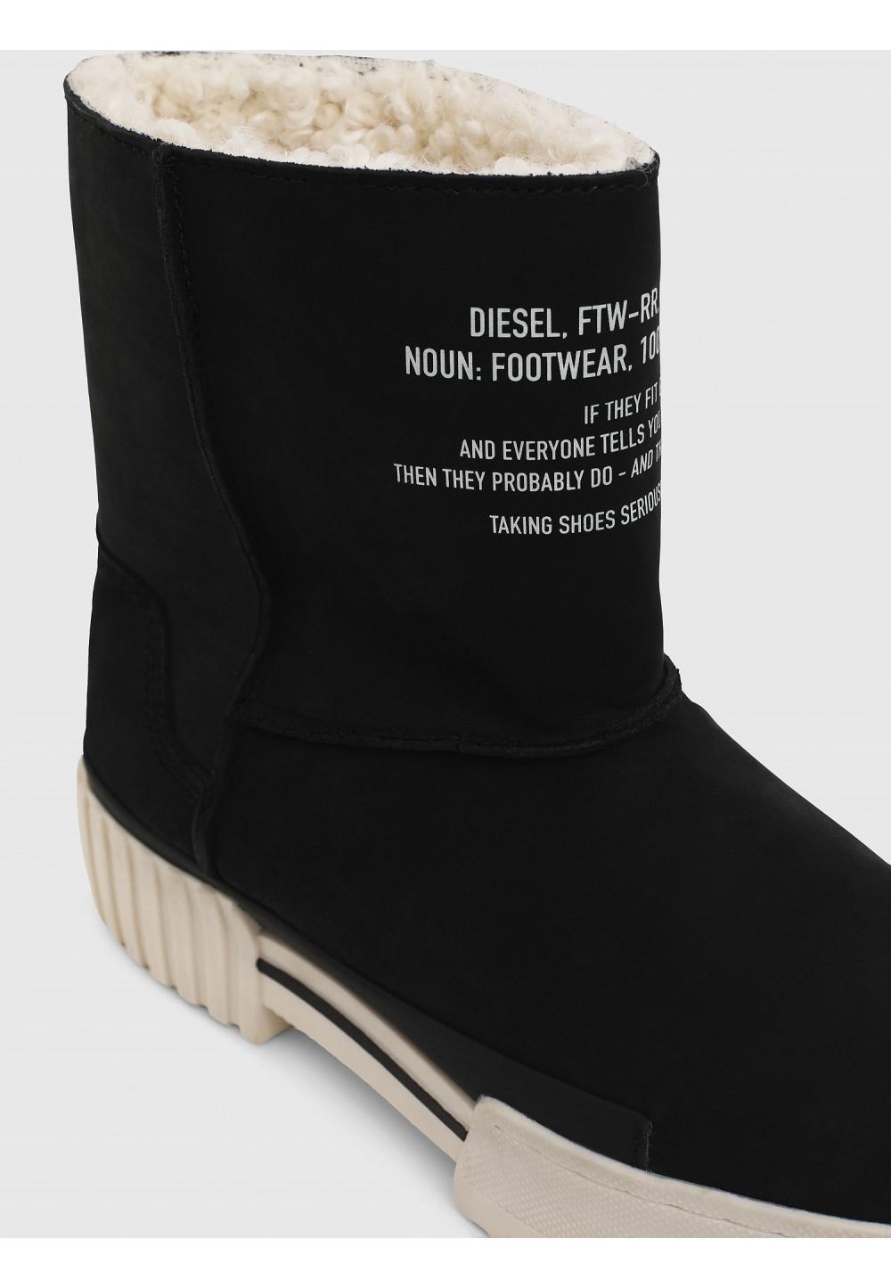 Ботинки на меховой подкладке